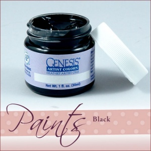 Genesis Heat Set Paint - Mars Black