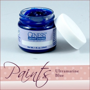 Genesis Heat Set Paint - Ultramarine Blue