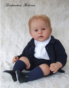 George Reborn Doll Kit With Body