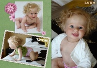 Amelia Crawling baby By Donna Rubert