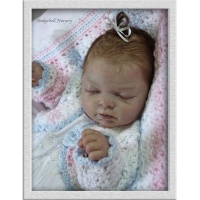 INDRA ASLEEP Full Bodied Silicone Like Vinyl Doll Kit