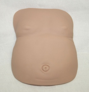 TUMMY BELLY PLATE FOR 18''-22'' DOLLS