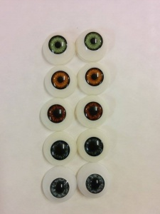 Amazing Eye Deal 5 Pairs Of Acrylic Eyes For £10