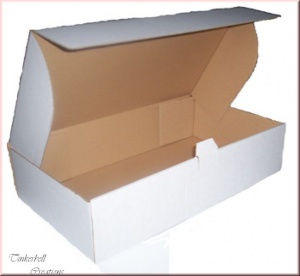 10 x White High Quality Doll Boxes