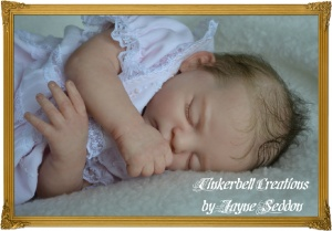 DVD LEARN TO MAKE REBORN BABY DOLLS FROM START TO FINISH With Jayne Seddon