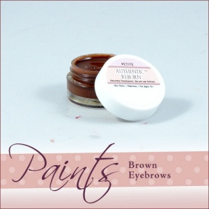 Genesis Heat Set Paint - Brown Eyebrow