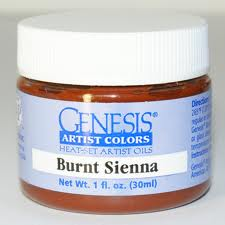 Genesis Heat Set Paint - Burnt Sienna
