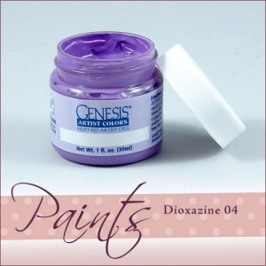 Genesis Heat Set Paint - Dioxazine  Purple 04