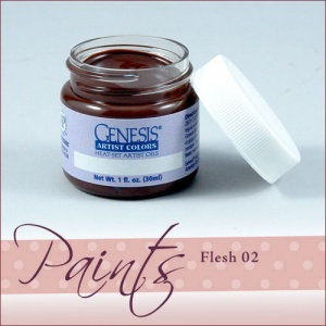 Genesis Heat Set Paint - Flesh 02