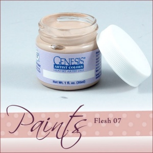 Genesis Heat Set Paint - Flesh 07