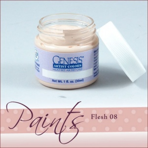 Genesis Heat Set Paint - Flesh 08