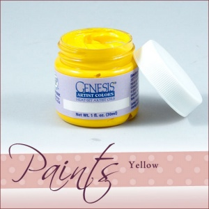 Genesis Heat Set Paint - Genesis Yellow