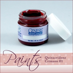 Genesis Heat Set Paint - Quinacrodine Crimson