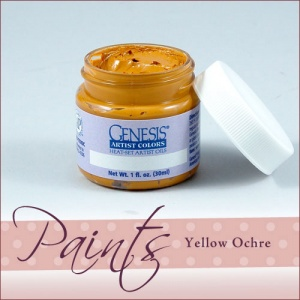 Genesis Heat Set Paint - Yellow Ochre
