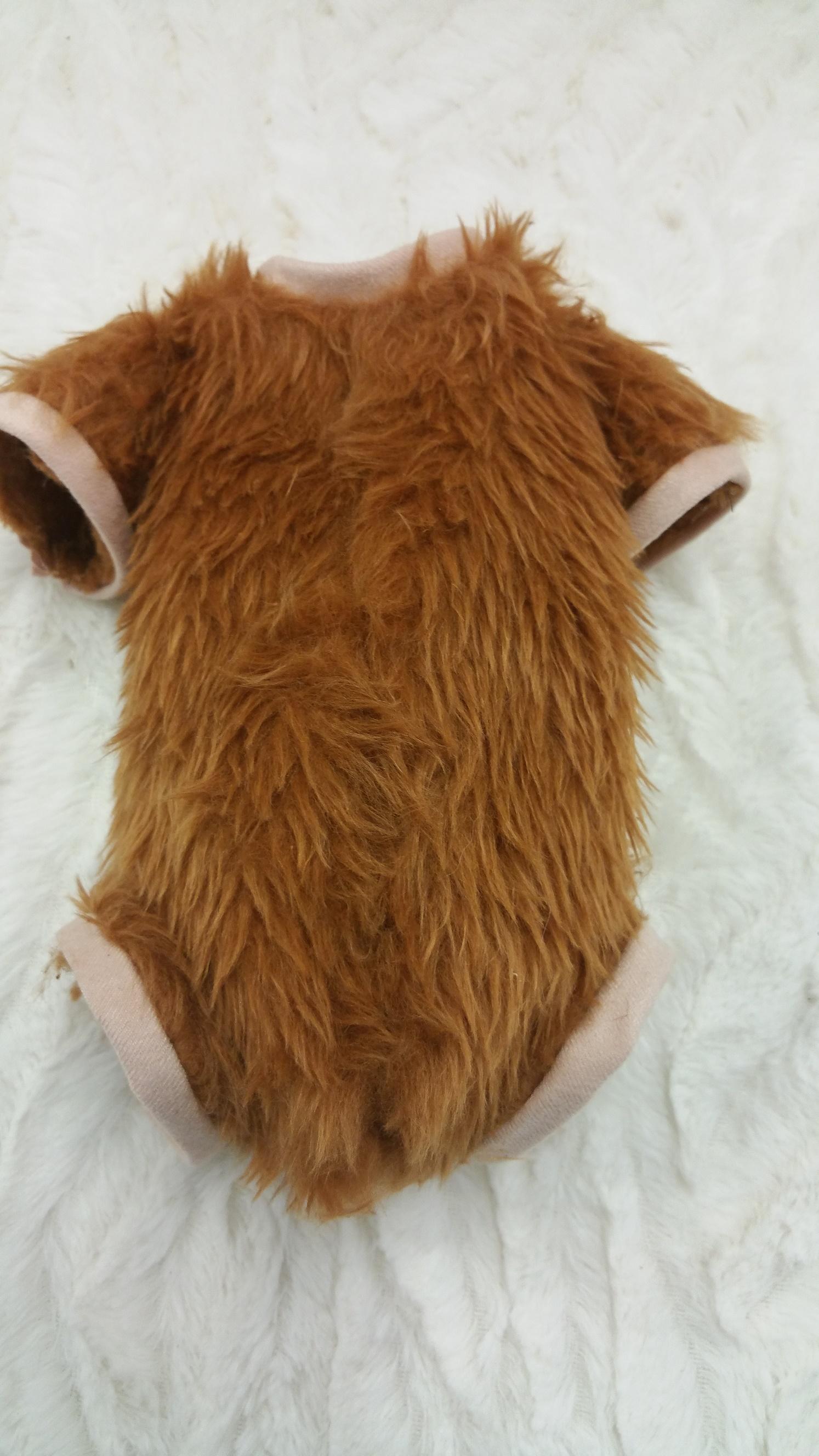 Fur Orangutan Monkey Luxury Tinkerbell Body