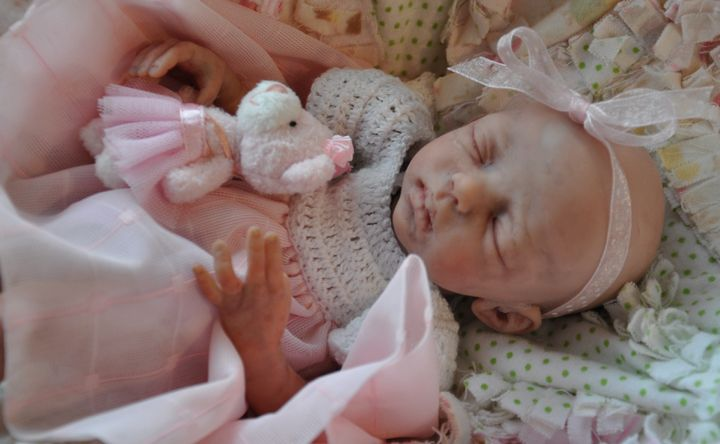 Wee Yawn Doll Kit For Reborn By Marita Winters