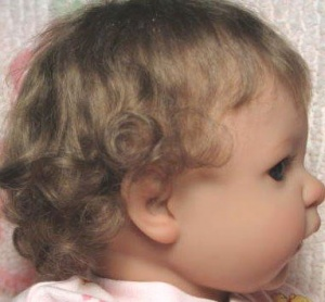 Mikayla Toddler Mohair Wig 16-17