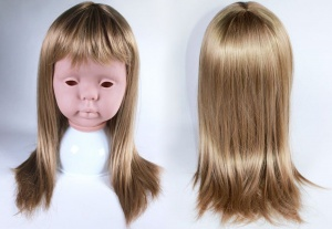 Peggy Sue 17-18'' Toddler Wig