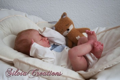 LOGAN SLEEPING -Realborn