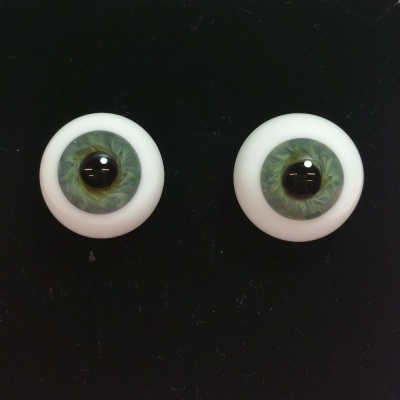 Tinks Sea Green Lauscha Glass Eyes
