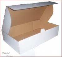 3 x White High Quality Doll Boxes