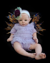 VIOLET Fairy Baby Doll Kit